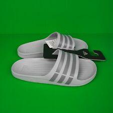 ADIDAS Duramo Slides Sandals Gray Men's Shoe Size 9