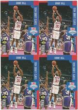 4 CARD LOT GRANT HILL ROOKIE RC #409 UPPER DECK DUKE BLUE DEVILS 94 DRAFT CLASS