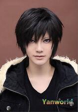 DuRaRaRa Orihara Izaya black short cosplay wig free shipping