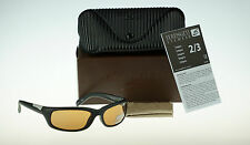 POLARIZED NEW Genuine SERENGETI Coriano Satin Black PhD Drivers Sunglasses 7425