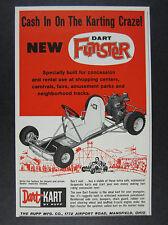 Vintage 1960/'s Rupp Dart Kart A-Bone Kart Test WOW