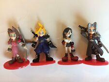 Final Fantasy VII Coca Cola Mini Figures Cloud Sephiroth Tifa Aerith