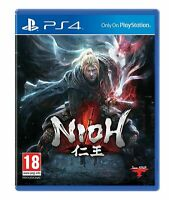 Nioh Playstation 4 PS4 Brand New Same Day Dispatch 1st Class Delivery Free