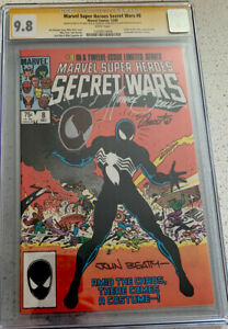 Secret Wars #8 CGC 9.8 SS  Signed By Beatty Zeck And Shooter