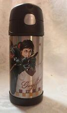 2007 Harry Potter, Lidded and Hinged Thermos Glass with Straw