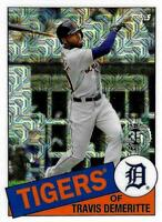 2020 Topps Update 1985 Topps Chrome Silver Pack #CPC-5 Travis Demeritte Tigers