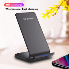 15W FDGAO Qi Wireless Charger Fast Charging Stand For i Phone 11 8 8Plus X XR XS