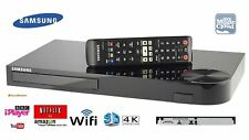 Samsung BD-J6300 SMART 3D 4K upscaling fino Blu-ray/DVD/CD PLAYER CON WIFI REMOTE