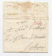 O390-SICILIA-PREF.LICATA/PALERMO 1817?