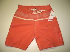 SPEEDO Sports Embroidered RESORTWEAR CORAL SURF & SWIM TRUNK, Small -Mint NWT!