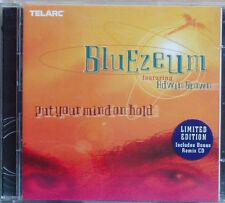 2CD Bluezeum feat Adwin Brown Put your mind on hold Telarc Limited Edition 1999