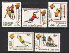 Ivory Coast 1981 Football/Soccer/WC/Sport 5v set n20517