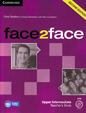CAMBRIDGE face2face Upper-Intermediate SECOND EDITION Teacher Book +DVD @NEW@