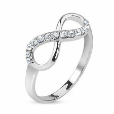 Infinite Ring With Pave Gems Size 6,8
