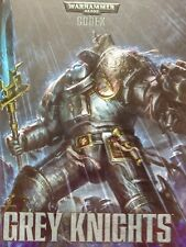 Warhammer 40k --  Codex Grey Knights (2014) - hardcover, excellent condition