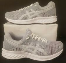 Asics Jolt 2 Grey/White Women Size 8 W Running Training Athletic Shoes