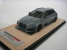 Audi RS6 Rs 6 Darwin Pro DTM Race 2017 Cement Gray 1/43 GLM 200102 New