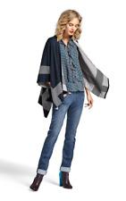 CAbi New Reversible Wrap Sweater Fall #3163 M/L