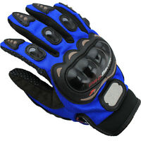 Motorbike Motorcycle Gloves Hard Knuckle Shell Protection Armored Biker Summer