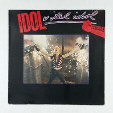 BILLY IDOL Vital Idol 207077 GEMA STEMRA LP Vinyl VG+ Cover VG+