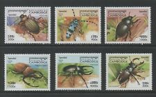 Thematic Stamps Animals - CAMBODIA 1998 INSECTS 6v mint