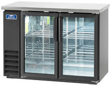 "Arctic Air Abb48G 48"" 2 Glass Door Back Bar Cooler"