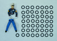 Kit réparation Gi Joe Lot de 50 élastiques NEUF Expedition 24H g.i joe repair