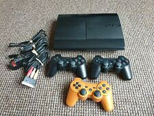 Sony Playstation PS3 Super Slim 500gb Consule And Controllers