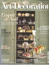 ART & DECORATION N°501 STYLE LOUNGE/ESPRIT DE NOEL : IDEES SIMPLES POUR RECEVOIR
