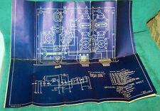 Original 1928 Blueprint Plan for the PILOT WASP Shortwave Receiver ... VG Cond