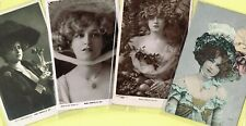 ☆ EDWARDIAN THEATRE ACTRESS / DANCER - GABRIELLE RAY ☆ 1900s Postcards LIST 43