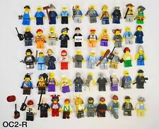 Lego Minifigures Lot of 50 Random Knights Pirates Police Town