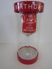 Cristalería de color principal rojo para cocina, comedor y bar