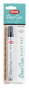 Gloss Black Short Cuts Paint Pen Marker by Krylon no. SCP-914 NEW