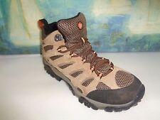 Merrell Men's J88623 Moab Mid Waterproof Hiking Shoe Earth Brown Size 10