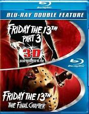 Friday the 13th Part 3 / Friday the 13th: Final Chapter (Blu-ray 2015) Disc Rare