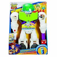 Imaginext Disney Toy Story 4 Buzz Lightyear Robot Playset w Detachable Shuttle