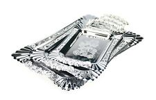 Silver Serving Tray with Handles 3pc Set With Handles Trays Serving 50420/50421