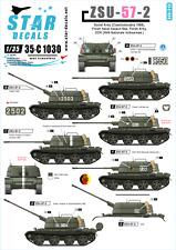 Star Decals 35-C1030, Decal ZSU-57-2  - Cold war Soviet, Poland&East Ger., 1:35