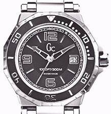 GUESS COLLECTION, SWISS MADE MEN'S GC-3 AQUASPORT  WATCH, X79004G2S, NIB $700
