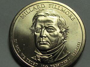 2010 P&D -  Millard Fillmore Presidential Golden Dollar Coin Set