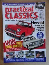 Practical Classics Magazine April 2001 Mini, Rover SD1, Ford, Cresta, Herald