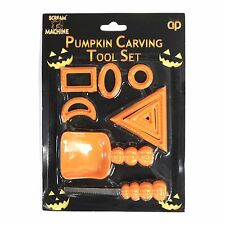 Halloween Pumpkin Carving Tool Kit For Kids Party Favour Trick Or Treat Games