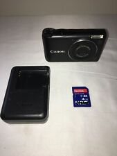Canon PowerShot A2200 HD 14.1MP 4x Optical Zoom Digital Camera - Black