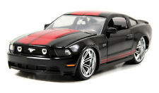 2010 Ford Mustang GT Hard Top 1/24 Diecast Replica Model Car Black Jada 96868