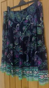 Wallis Skirt    Navy    Size 16