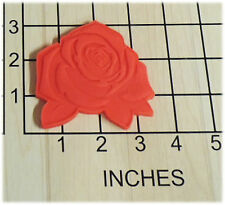 Tea Party Rose Shaped Cookie Cutter and Stamp #1269