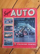 Super Auto Panini Sticker Album (1977).100% Complete.