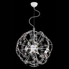 Lampadario Moderno ANCHE COLORATO Sospensione Plexiglass 6 Luci Soggiorno Camera