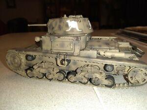 Built 1/35 M13/40 Carro Armato Italian Ww2 Tank